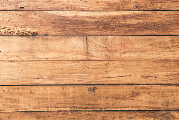 Texture of natural wood after cleaning